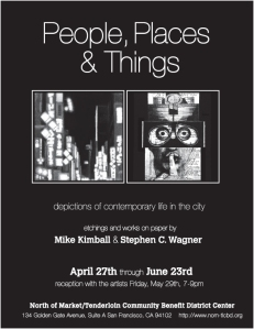 CBD Gallery exhibtion of works by Mike Kimball and Steve Wagner