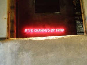 Eye Changed my Mind, Charles Linder