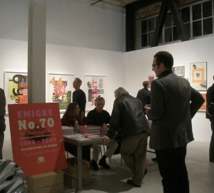 Emigre Exhibtion with Designers