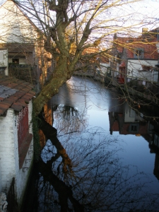 bruges canal, january 3, 2010