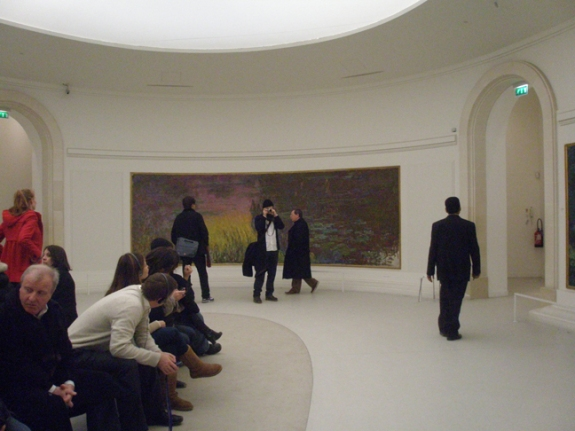 Monet's Waterlilies at Musee de l'Orangerie
