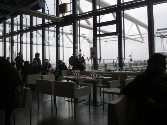 Pompidou Centre, Restaurant Georges, January 1, 2010, kathryn arnold