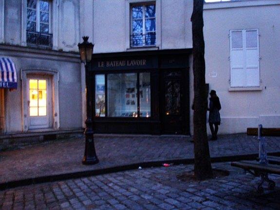 picasso's studio, montmartre