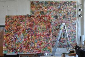 kathryn arnold: studio view