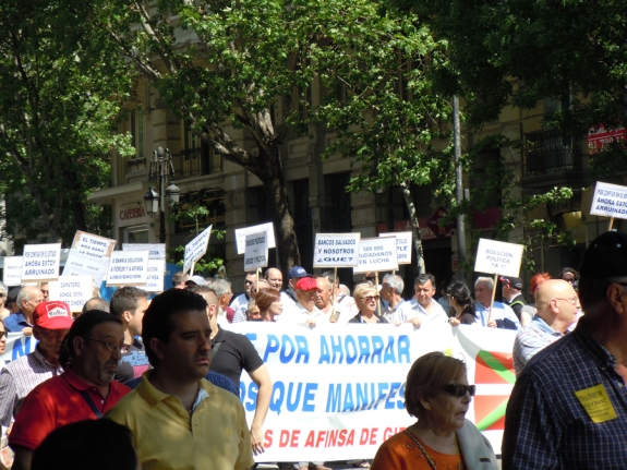 "Madrid Protest, ""A Lot To Lose"", May 26, 2012"