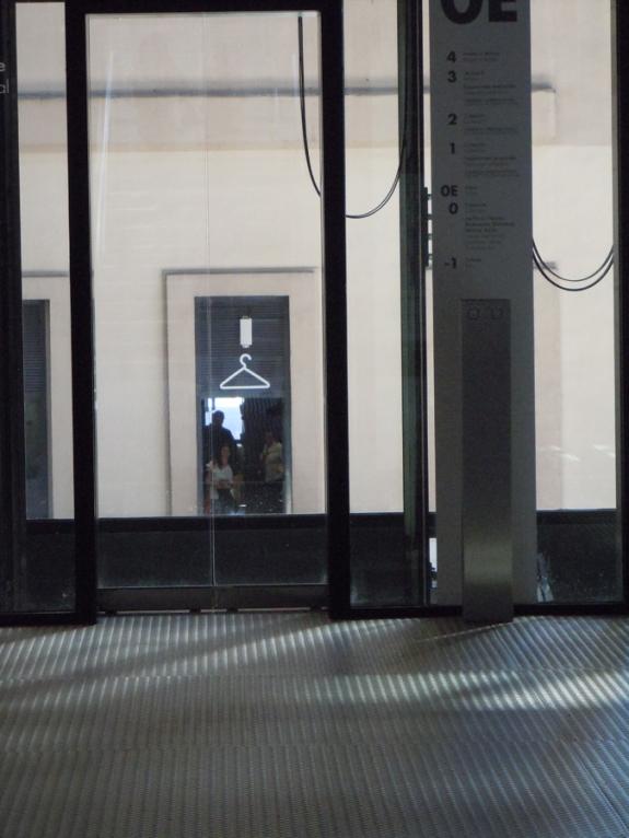 Museo Reina Sofía interior elevators