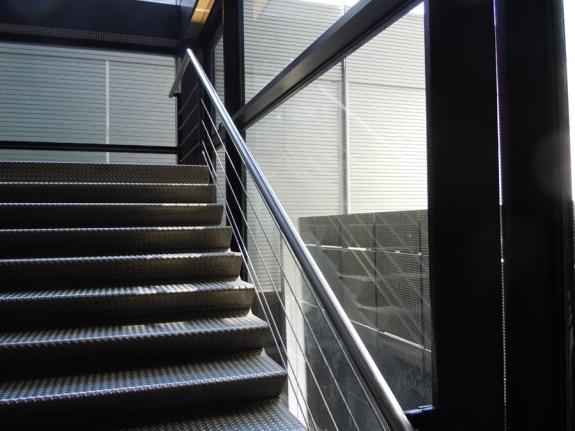 Museo Reina Sofía interior stairs