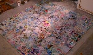 "dash of white, kathryn Arnold, 100 x 100"""