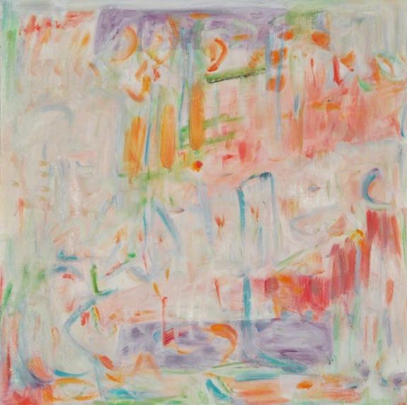 "Pastel Set #1, kathryn arnold, 20 x 20"", oil on canvas"