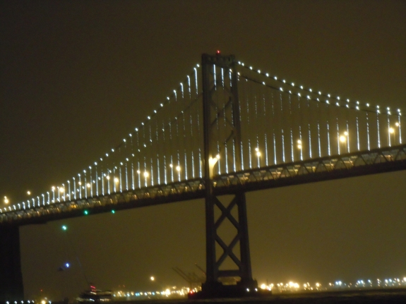 Bay Bridge from Howard St, March 5, 2013