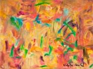 "Perception #1, 12 x 16"", oil on canvas by Kathryn Arnold"