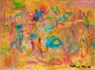 "Perception #2, 12 x 16"", oil on canvas, by Kathryn Arnold"