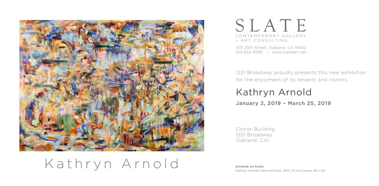 Kathryn Arnold, 'Here and Now', oil on canvas 48 x 64""
