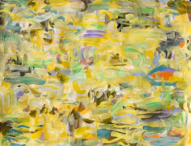 """Kathryn Arnold, """"After OP #117"""", Acrylic on Archival Paper, 22 x 30"""""""