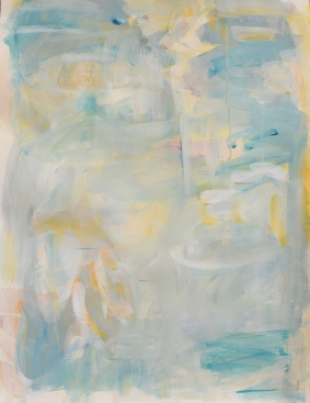 "Kathryn Arnold, ""After OP #56"", Acrylic on Archival Paper, 26 x 19"""